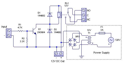 Relay Driver Circuit