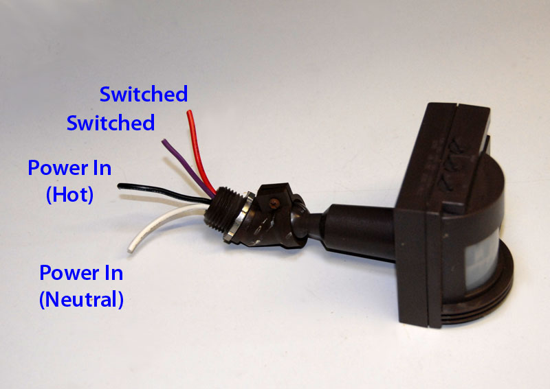 Motion Sensor Switched Output Hack AUTOMAT3D